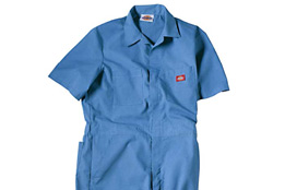 COVERALLS WITH CUSTOMIZED LOGOS